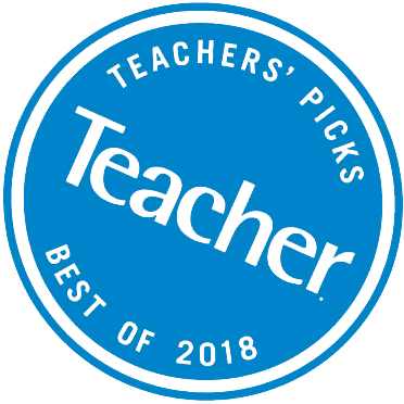 Scholastic Teacher's Picks balva 2018.gadā