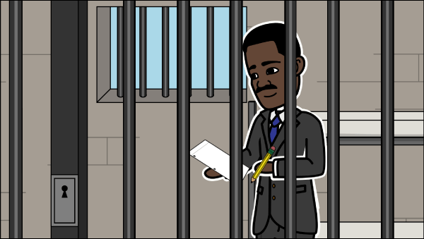 letter to birmingham jail by martin luther king jr Letter from birmingham jail study guide contains a biography of martin luther king, jr, literature essays, quiz questions, major themes, characters, and a full summary and analysis.