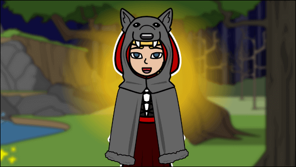 Little Red Riding Hood och Wolf Lesson Plans