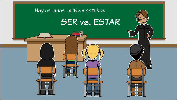 Spanish Verbs Lesson Plans - Ser vs Estar