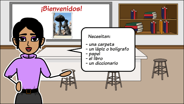 Spanish Classroom Materials and Expressions