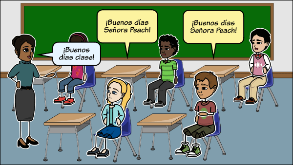 Teaching Spanish Lesson Plans