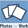Photos for Work - Logo