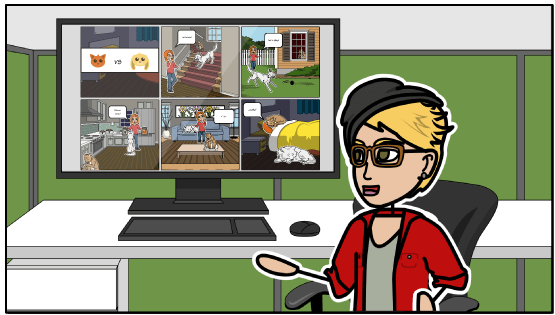 Create comics online for creative expression