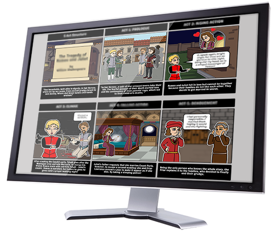 Storyboard That  za svoju učionicu i školu - Storyboard ili strip maker