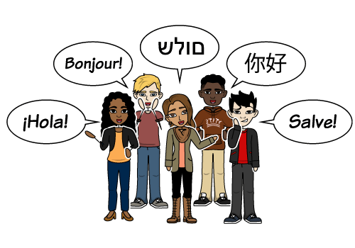 Storyboard for Foreign languages learning & visual learners