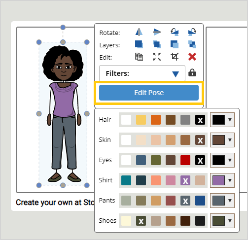 Storyboard creator software help pose your characters