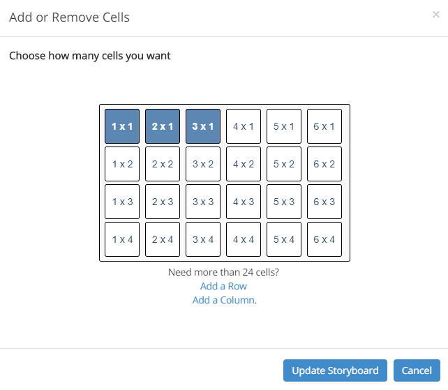 How to Add Cells to storyboard software in creator