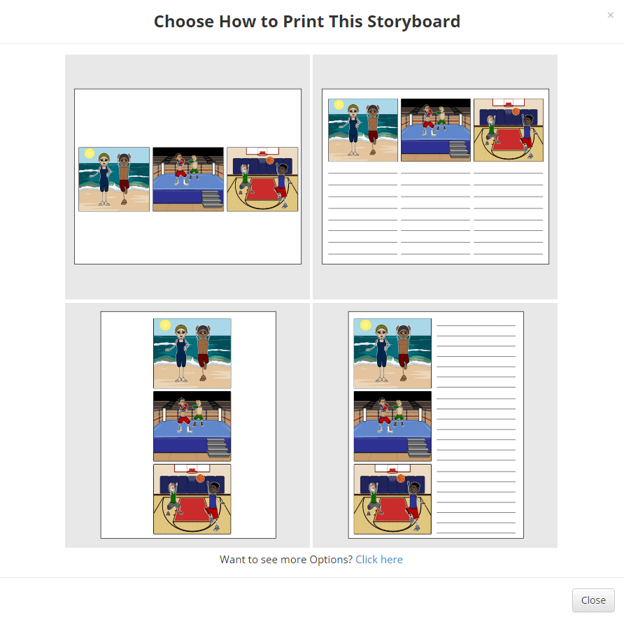 how to print storyboard software - Step 3
