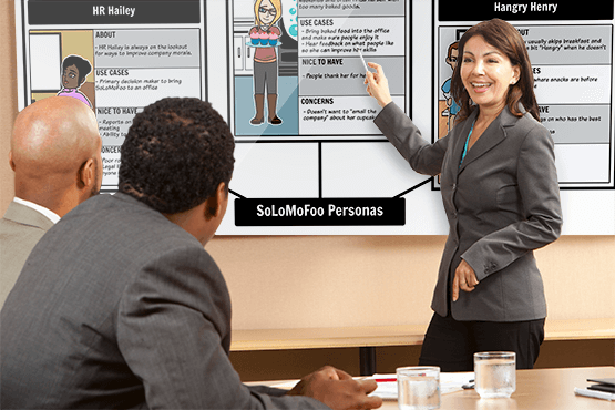Storyboard software for business objectives
