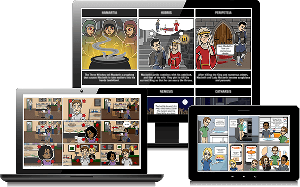 Storyboard That  - Montāžas programmatūra un Comic Maker Creator