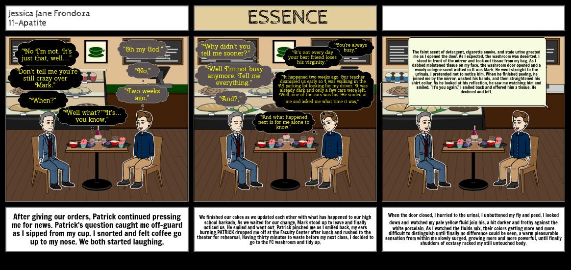 Essence  By Jose Claudio B. Guerrero