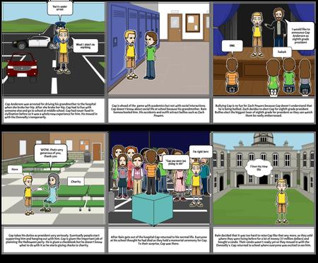 L.A novel study comic project