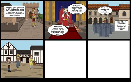Crusader Comic
