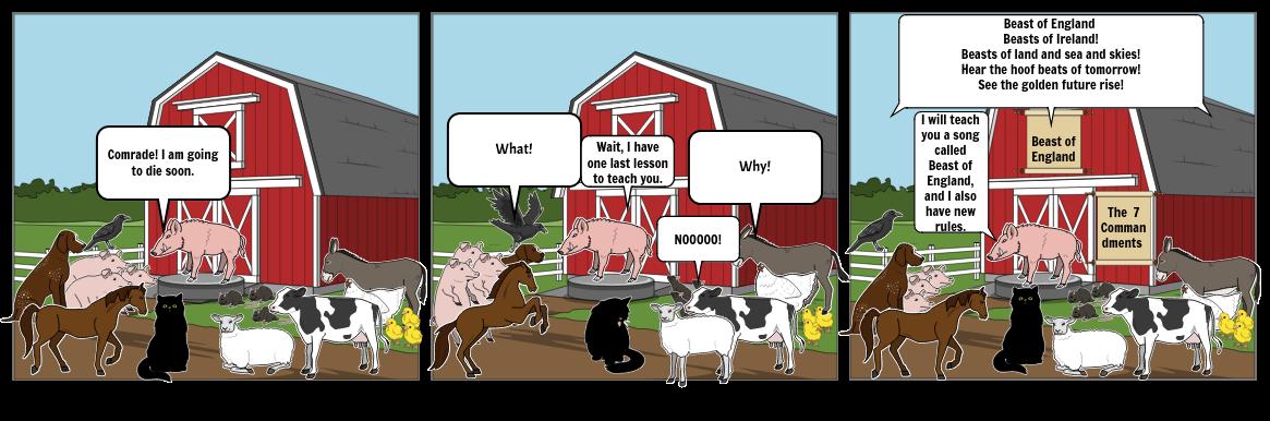 Animal Farm Comic Book
