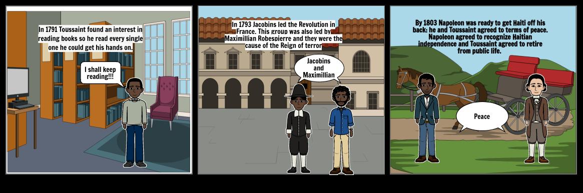 Toussaint L'Ouverture Comic