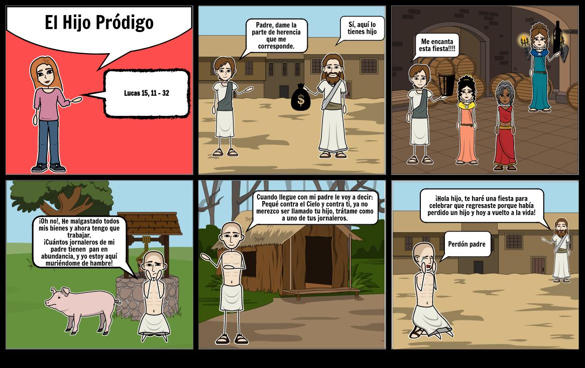 Comic: El Hijo Pródigo