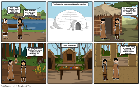 Part 1 Southeastern & Arctic Storyboard