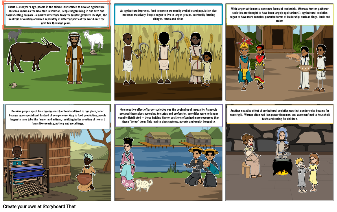English Project Comic Strip