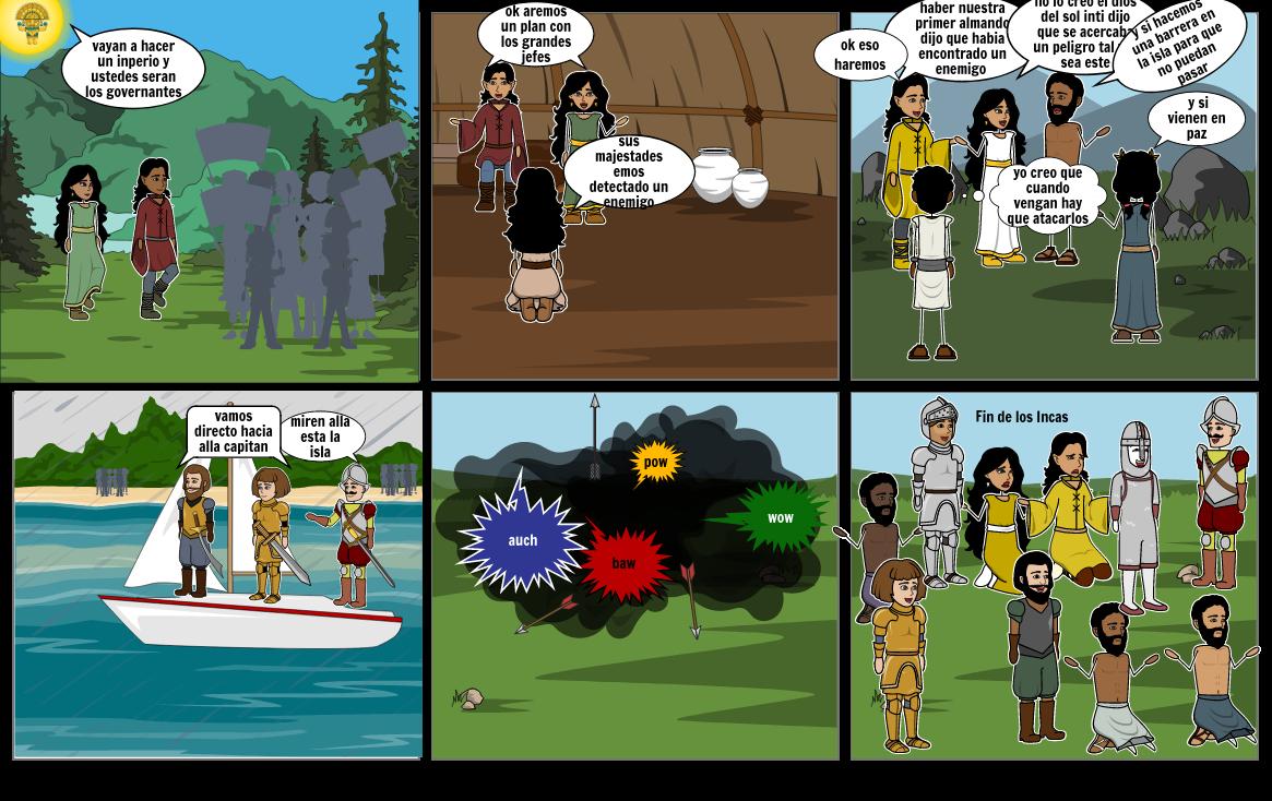 la leyenda de los incas