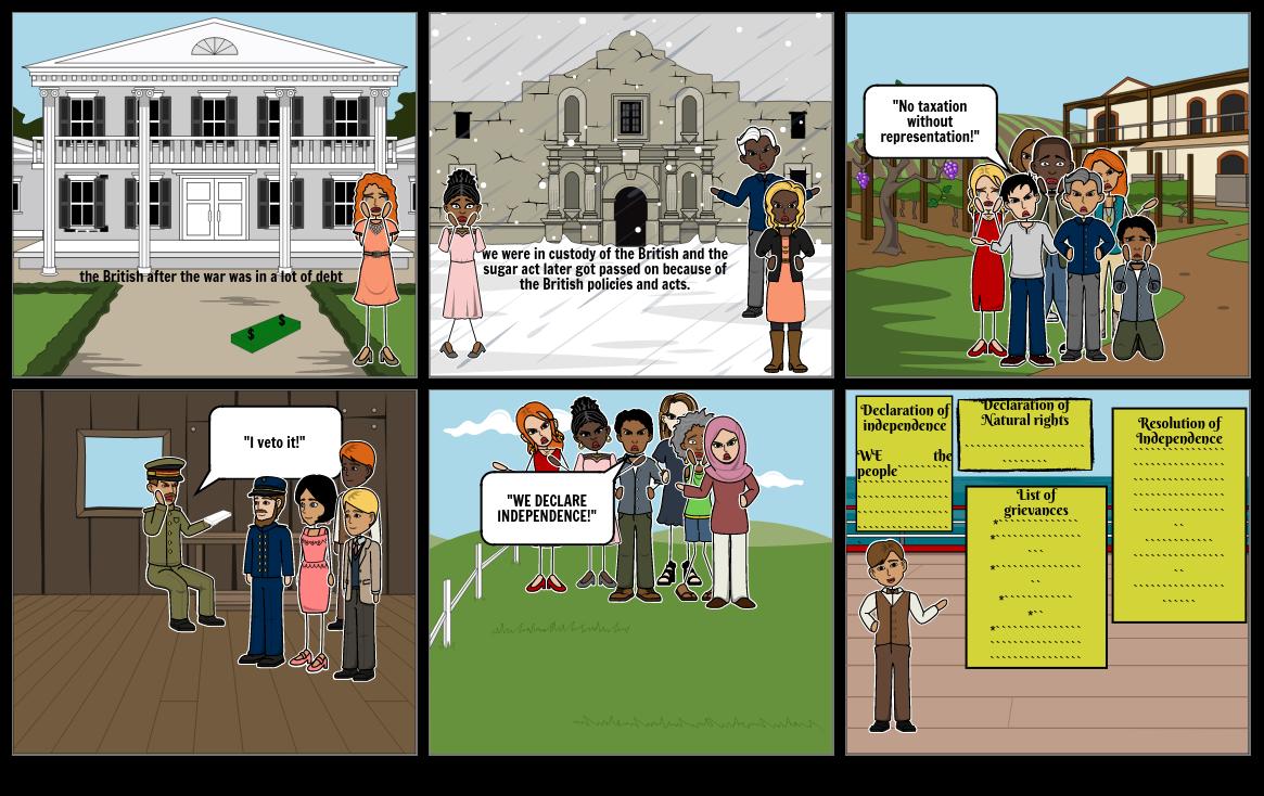 comic strip for ms. Falla
