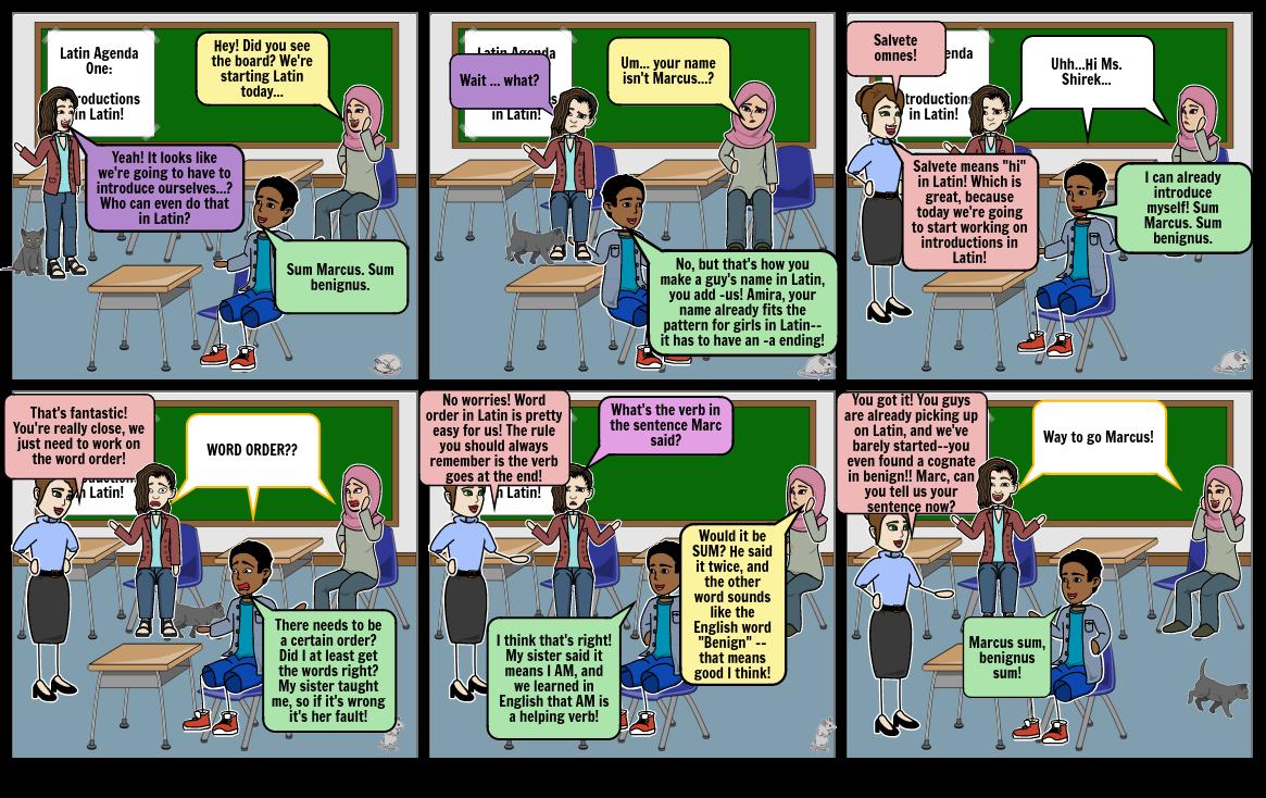 Ms. Shirek Latin Storyboard 2