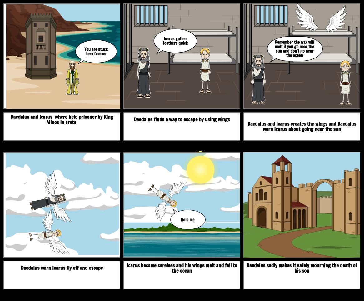 Icarus comic