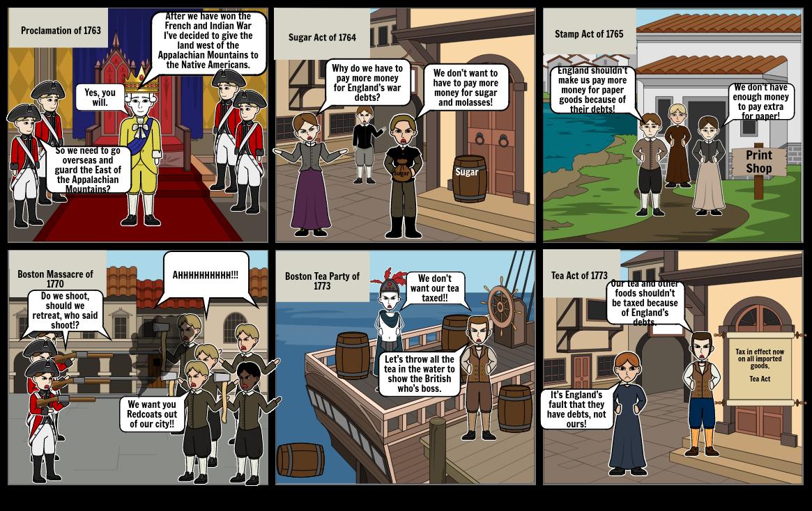History storyboard