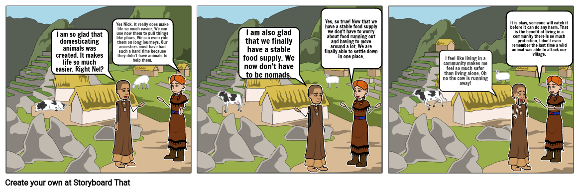 Neolithic Age Story Board