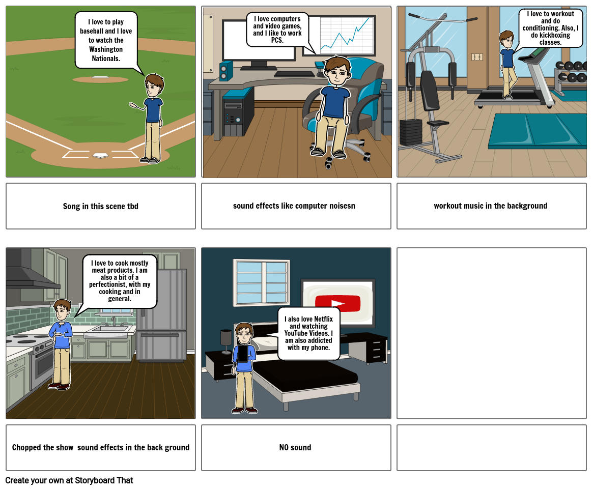 Know Me storyboard