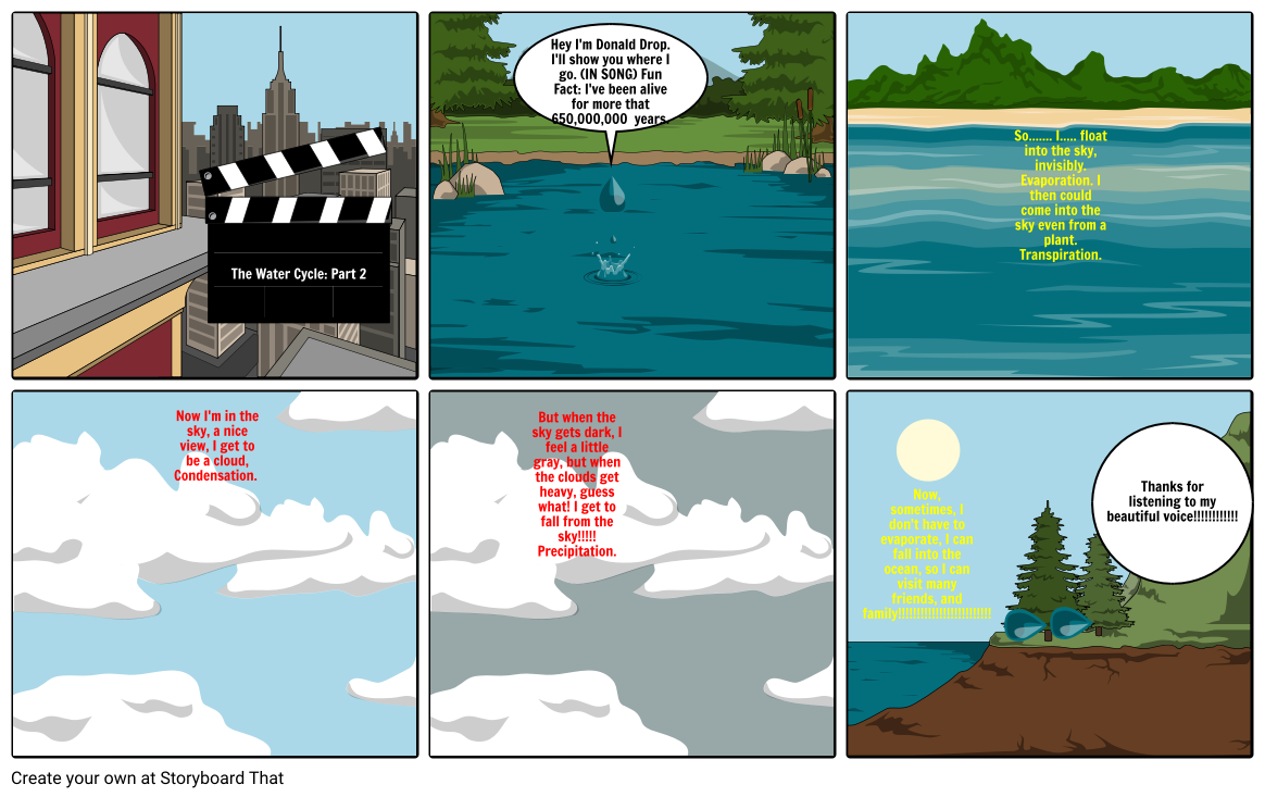 The Water Cycle: Part 2