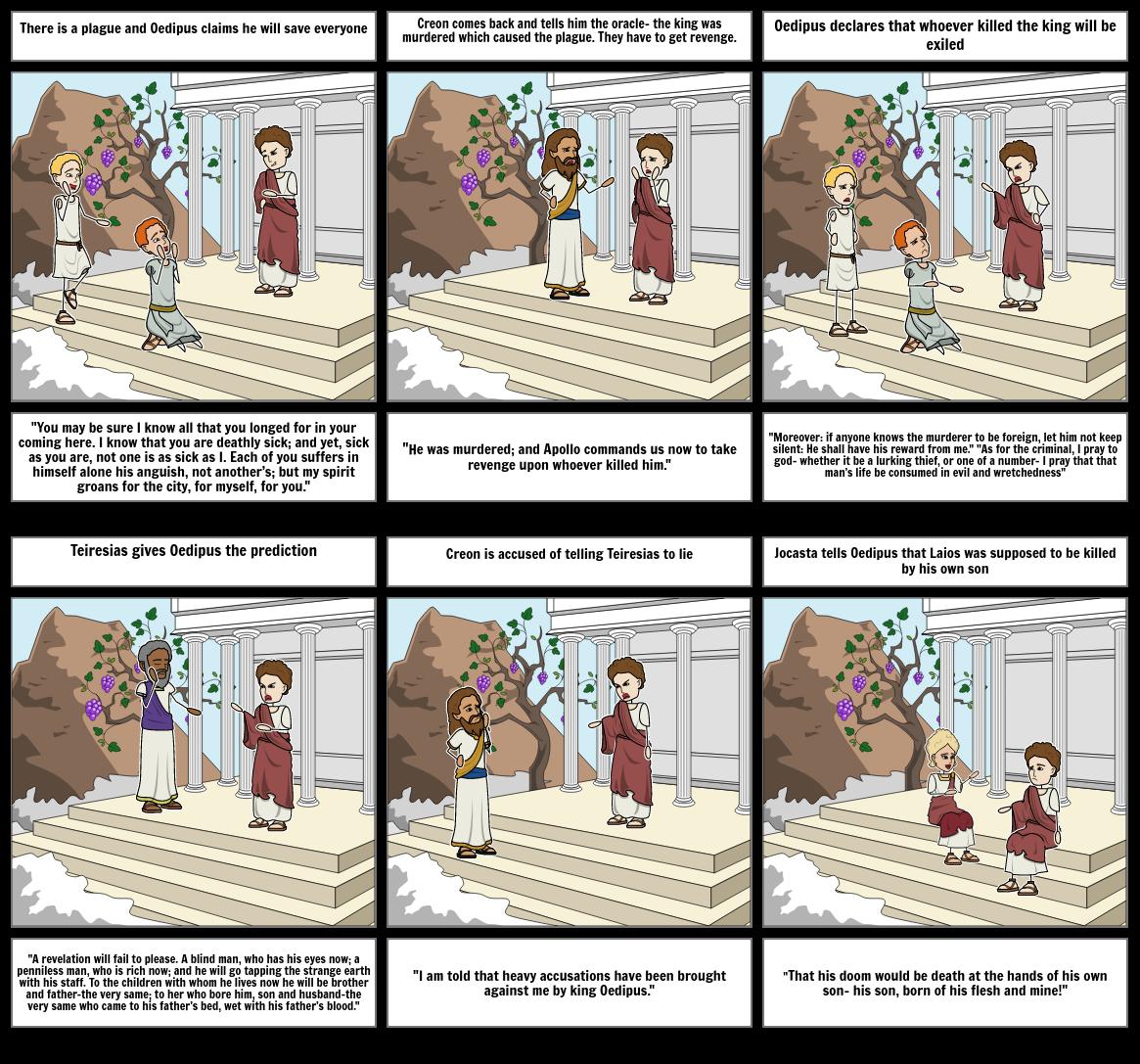 Oedipus Comic Part 1