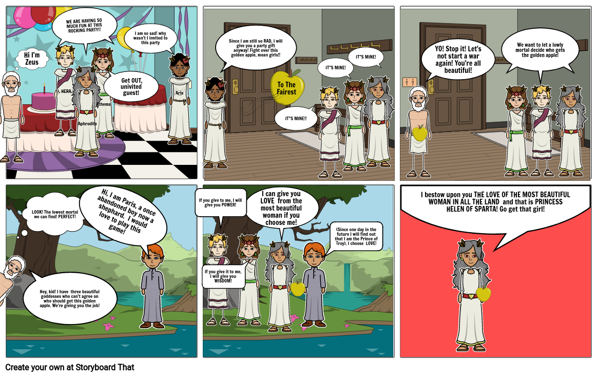 Trojan War Comic