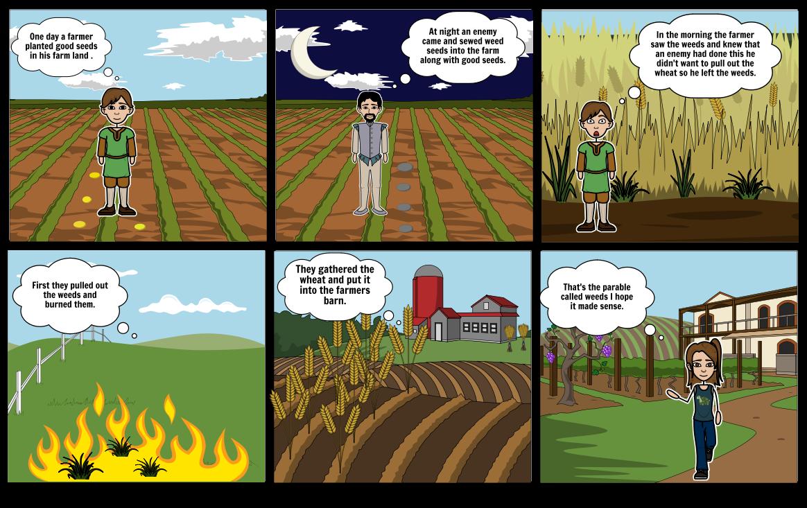 Weeds parabel