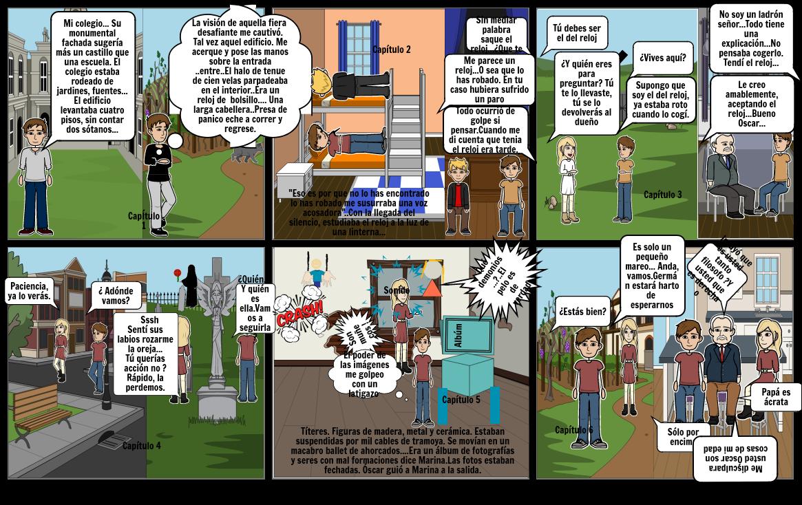 El comic de Marina Sesion 10- LyL- Mirella Orellana