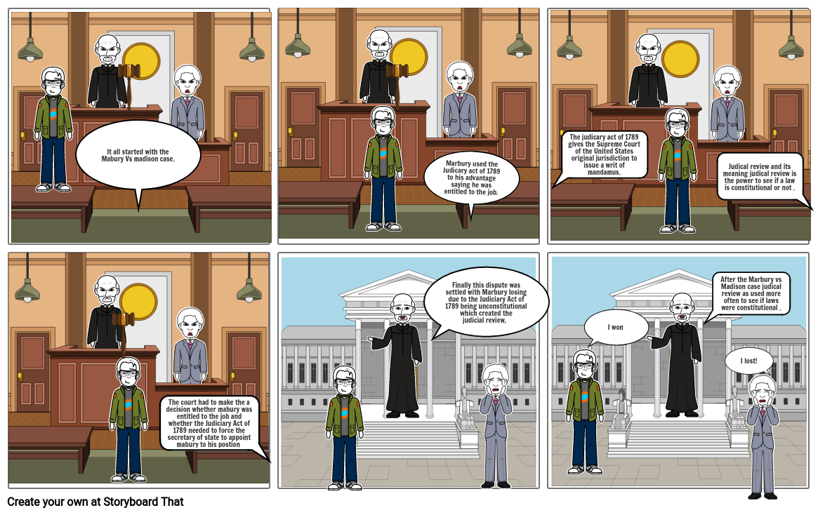 Kevin Aguirre judicial review comic