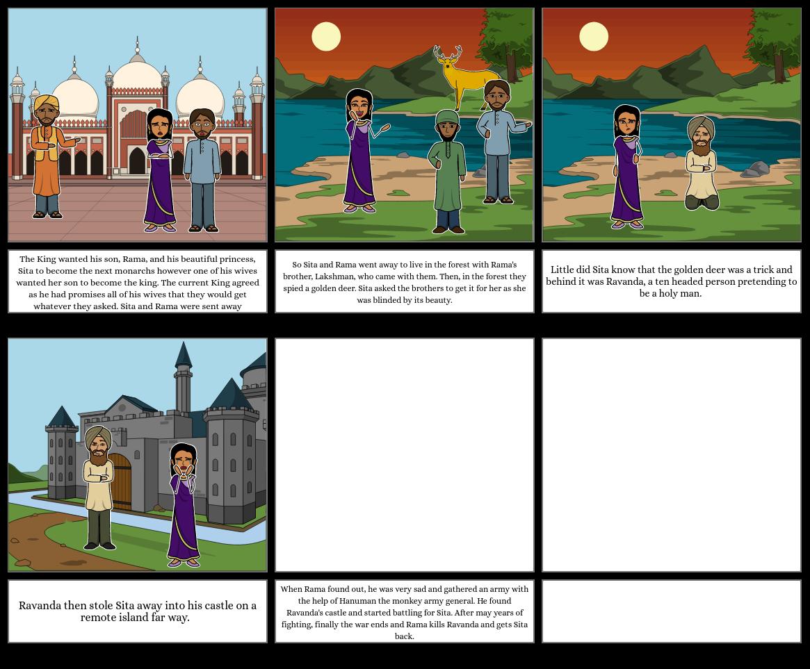 Story of Diwali: Rama and Sita