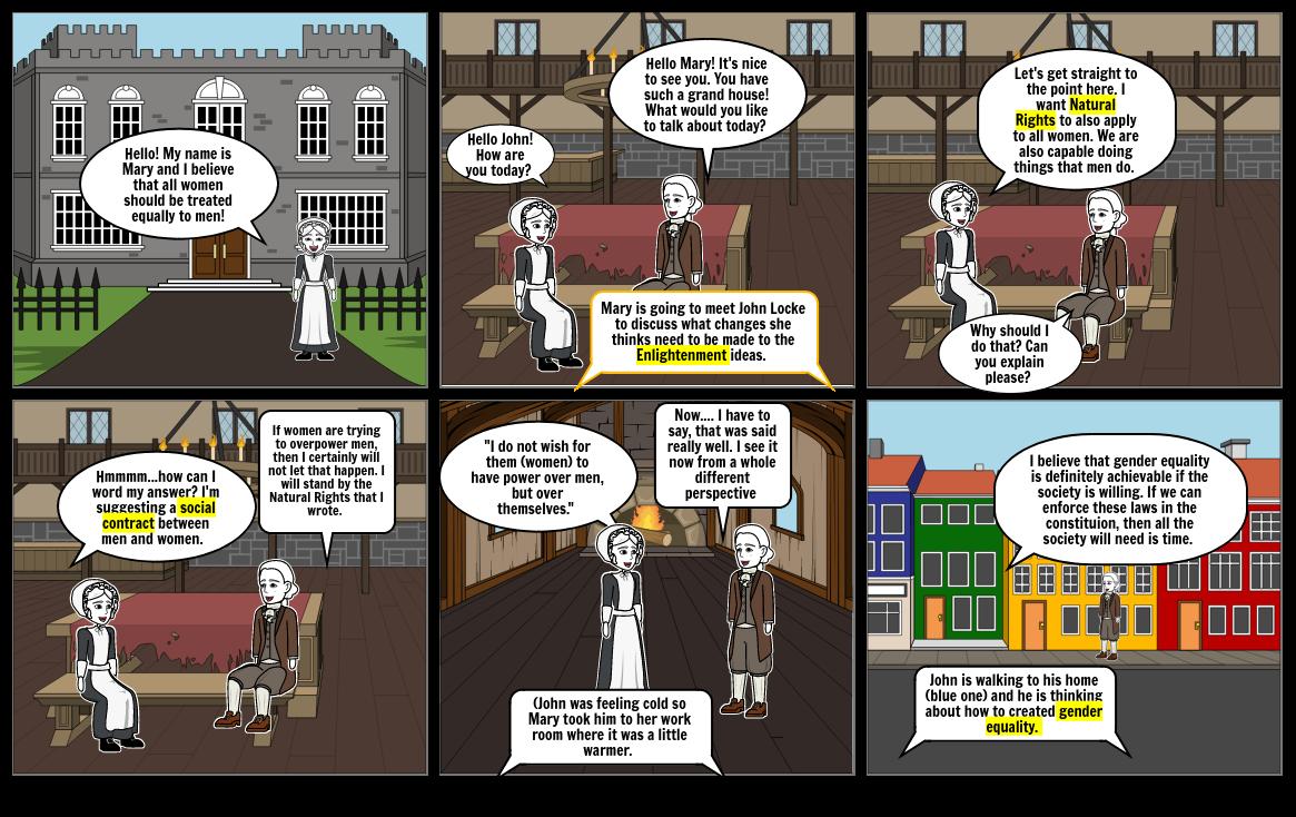 Philosophers Storyboard