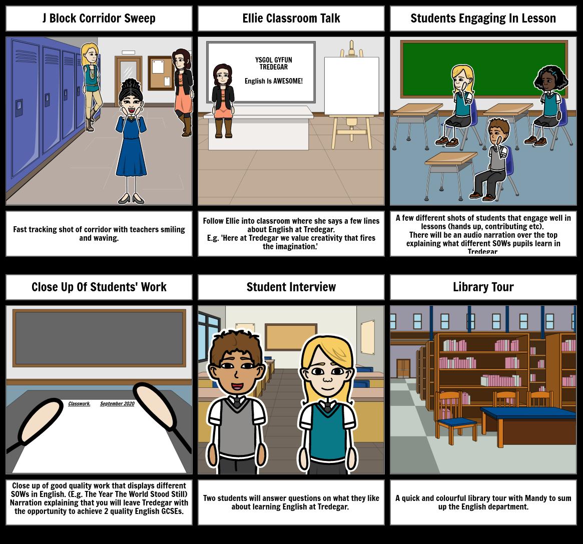 School Storyboard 1