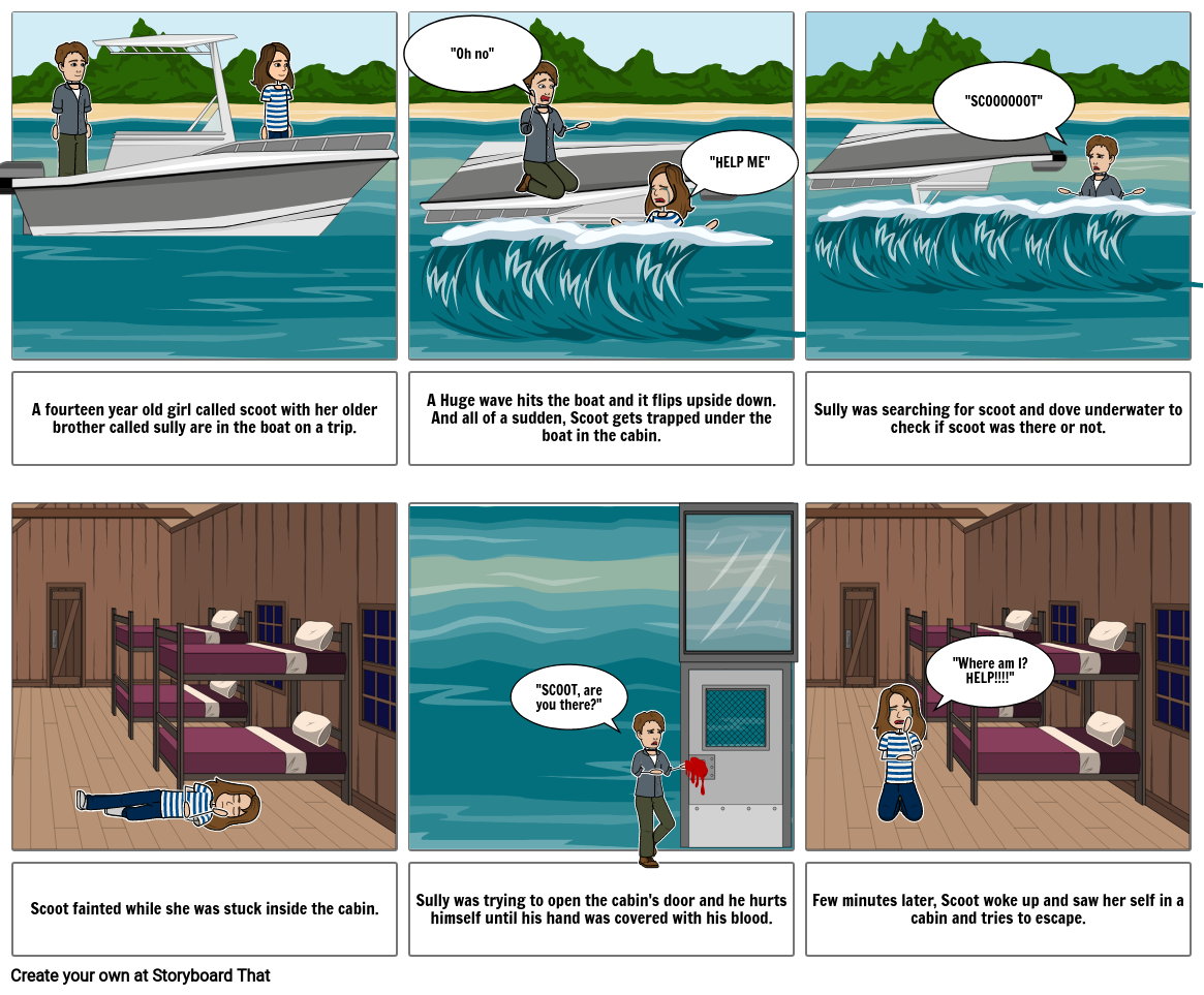 Rogue Wave story board