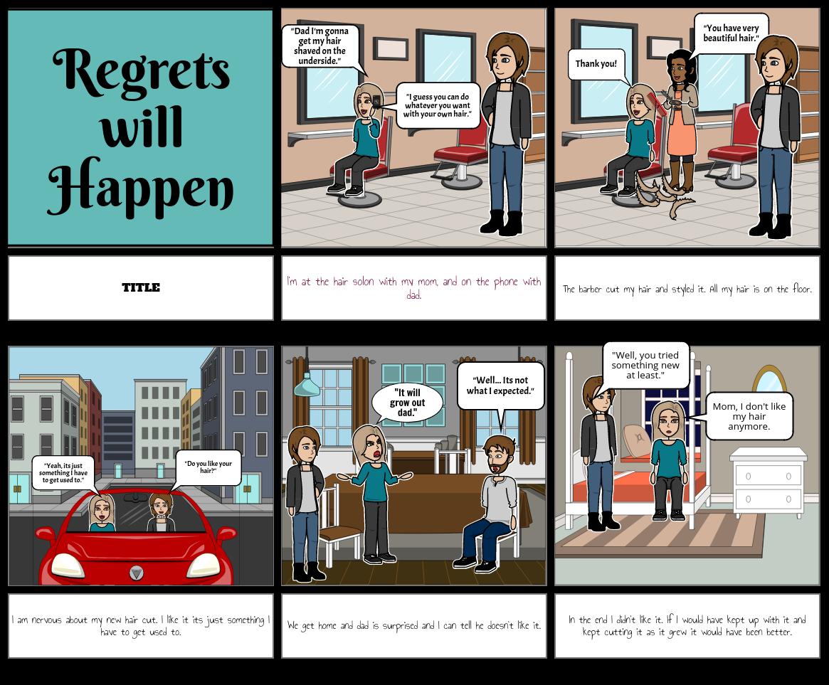 Regrets can Happen