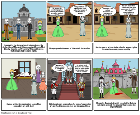Olympe De Gouges incredible Story