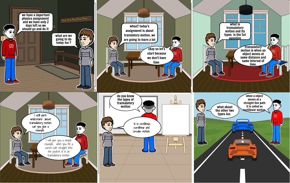 the comic strip by abinav prasath