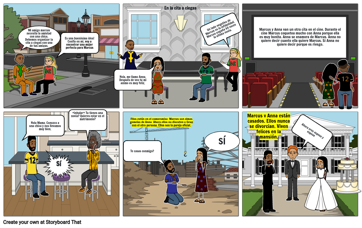 Evan Fisher Story Board Project