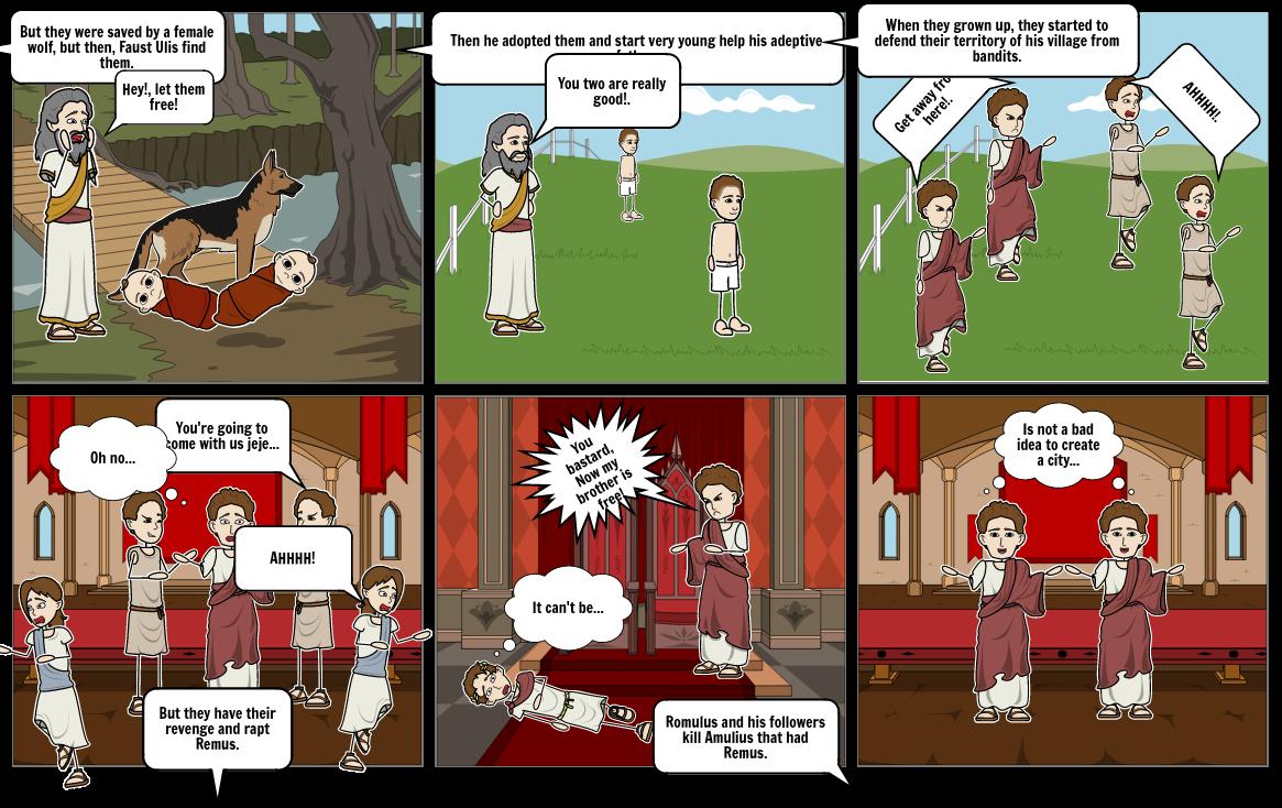 Romulus and Remus 2.0