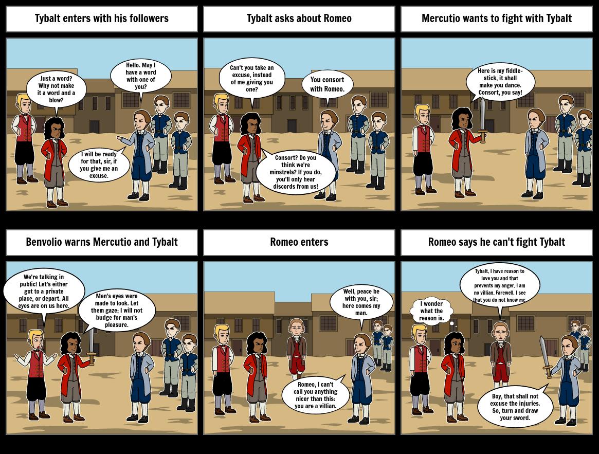 Romeo and Juliet Act 3, Scene 1 - Part 1