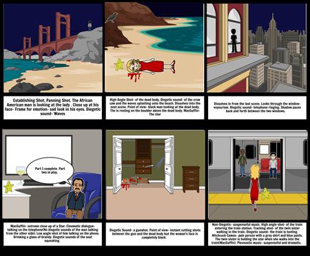 Assesment english storyboard