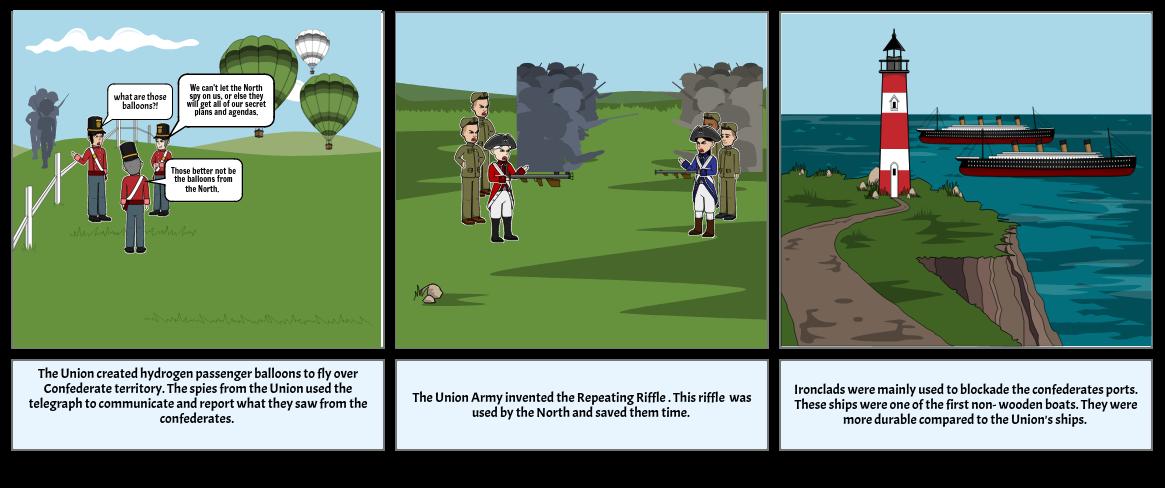 civil war weapon inventions