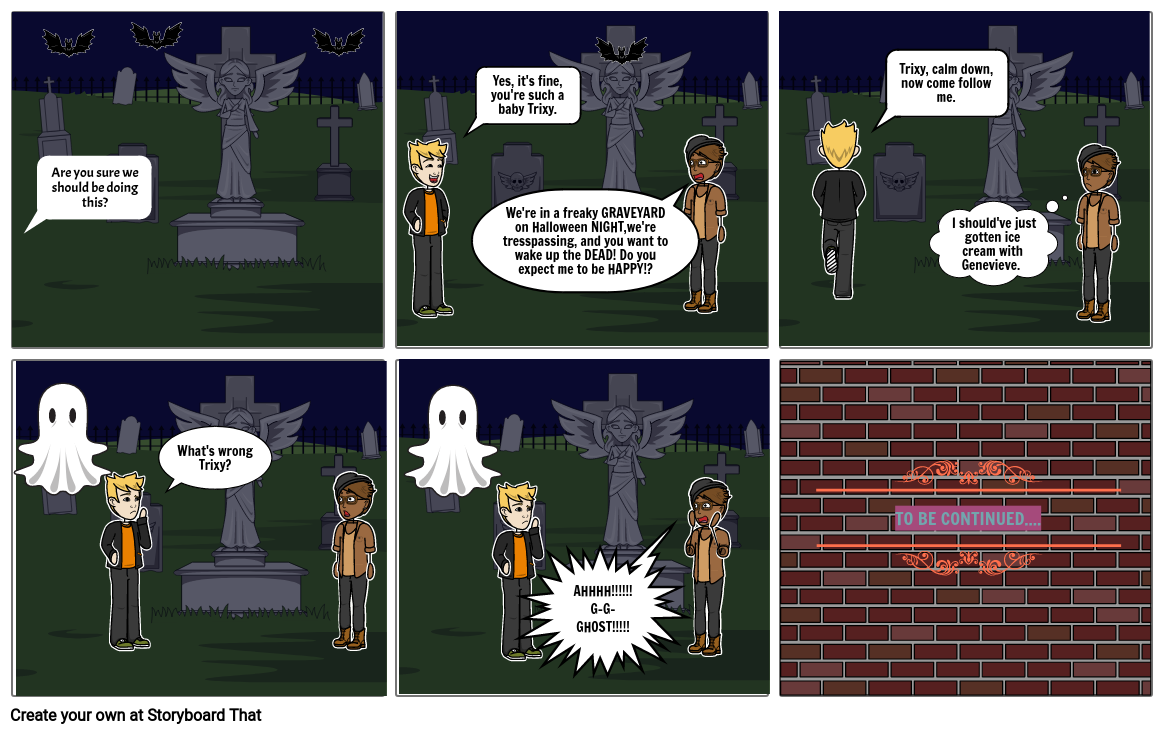 The Ghost Graveyard: Part 1