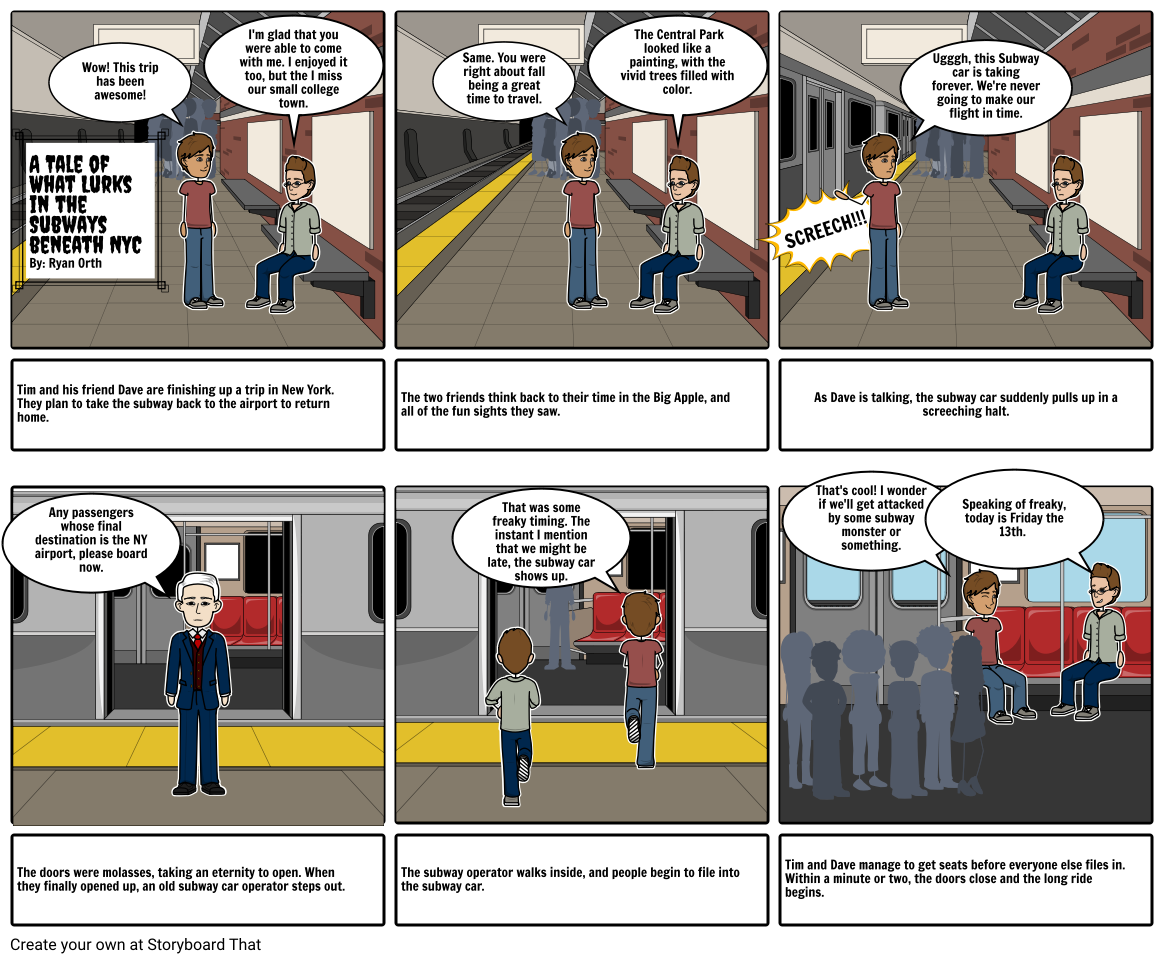 Urban Legend Project: Disappearing Subway Car